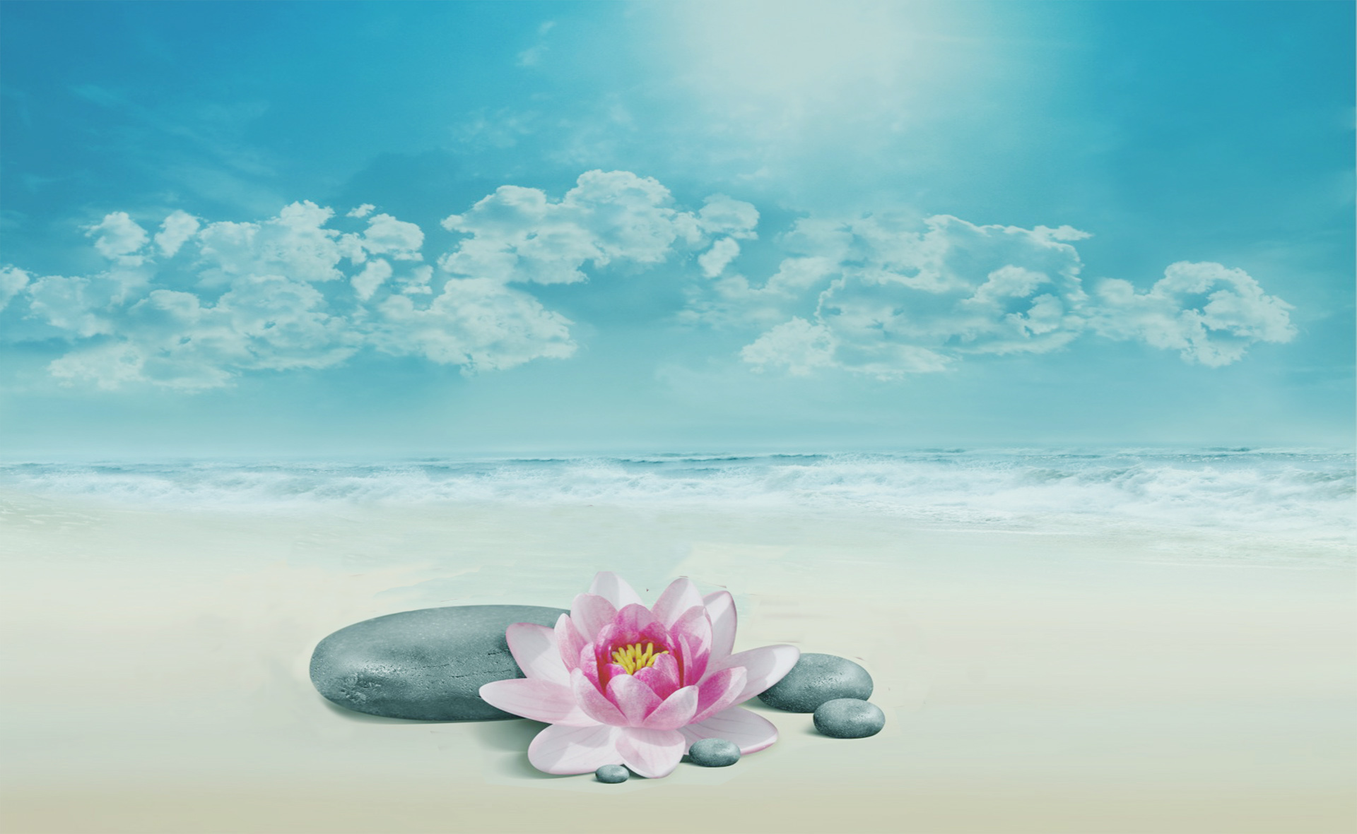 ocean lotus background